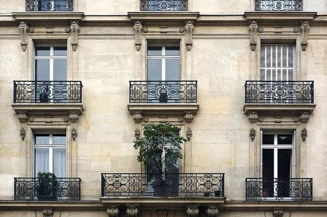 Вот так выглядит французский балкон