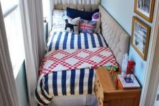 На балконе можно поставить кровать