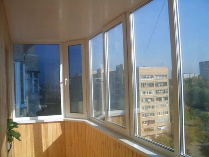 Распашные балконные рамы