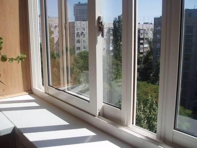 Раздвижные балконные рамы