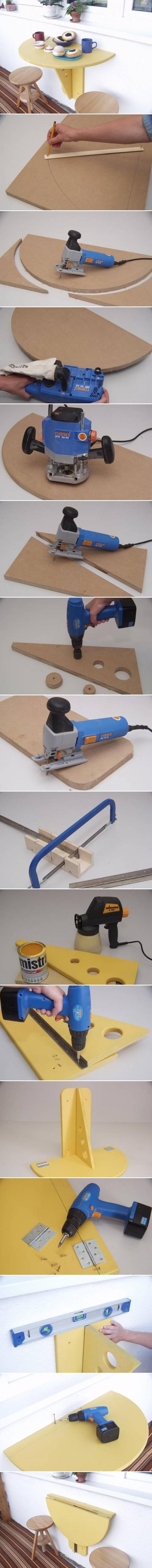 Пошаговая инструкция по сборке столика