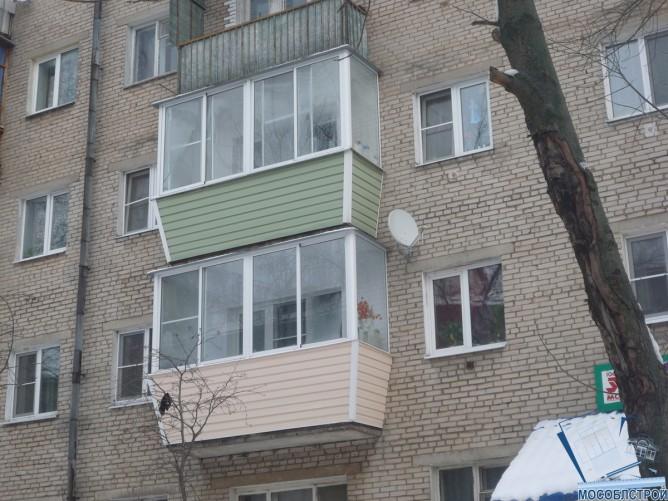 Остекленные балконы