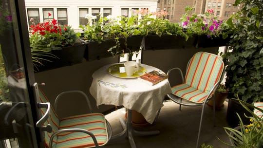 Приятное место для летнего отдыха