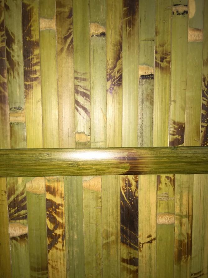 Бамбуковая стена