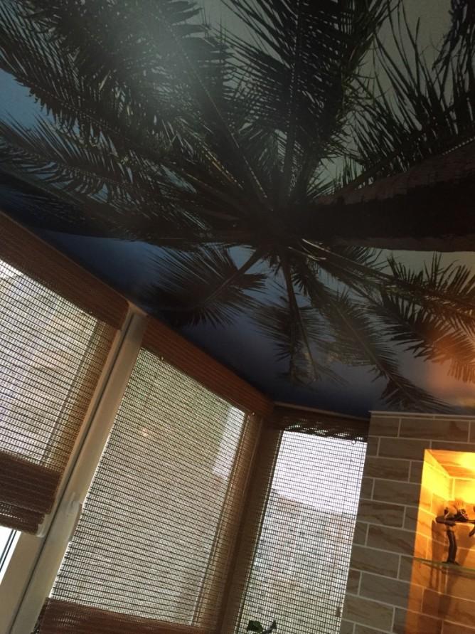 Экзотический потолок