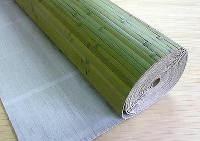 Изнанка бамбукового полотна