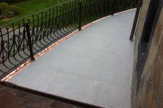 Открытый балкон