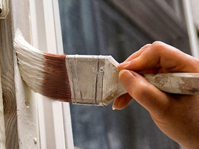 Окраска окна
