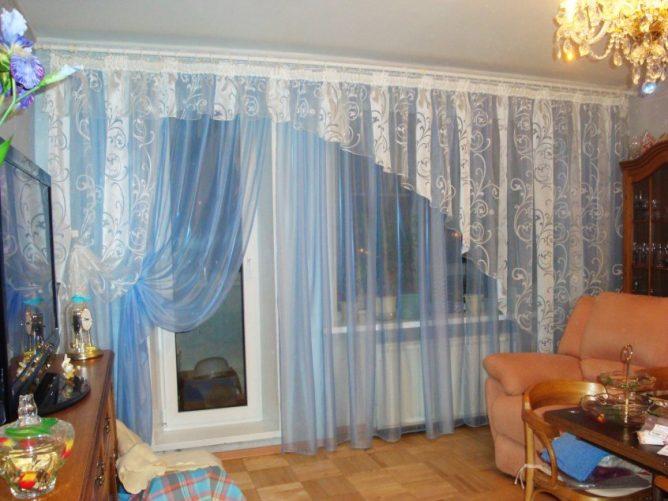 Оригинальные шторы в зал