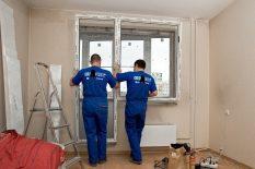 Демонтаж балконной двери
