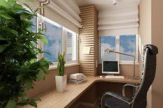 Аскетичный дизайн кабинета