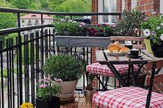 Кованая мебель для балкона